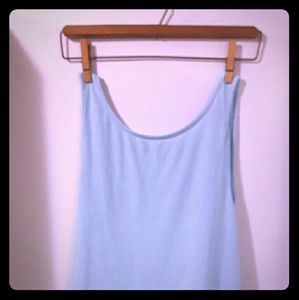 Tops - ⭐Blue backless tank top